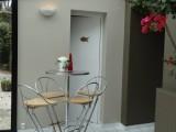 Tavolo alto da bar, veranda
