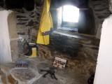 Caminetto in pietra rustica