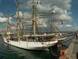Vecchie attrezzature navali, festa marittima, Brest